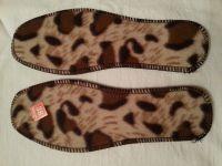 Стельки женские Леопардовые